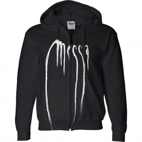 "MESSA ""Logo"" full zip hooded Sweatshirt"