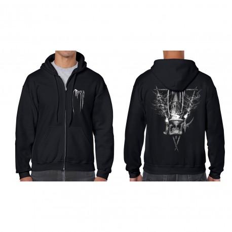 "MESSA ""Belfry Ritual"" full zip hoodie"