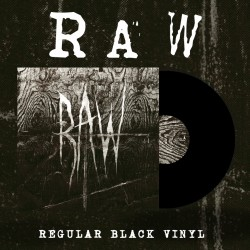 "RAW ""From The First Glass To The Grave"" LP"