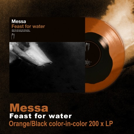 """MESSA """"Feast for Water"""" LP 2 colori"""
