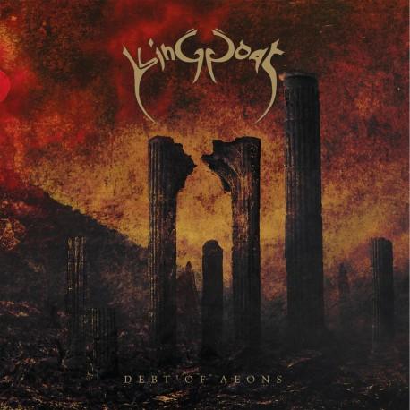 """KING GOAT """"Debt of Aeons"""" CD"""