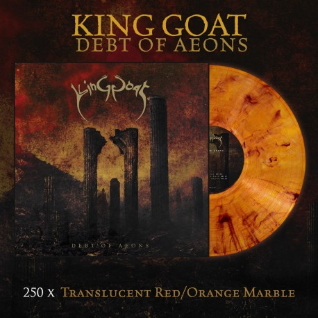 "KING GOAT ""Debt of Aeons"" color LP"