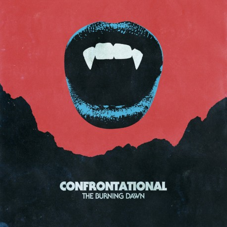 "CONFRONTATIONAL ""The Burning Dawn"" LP"
