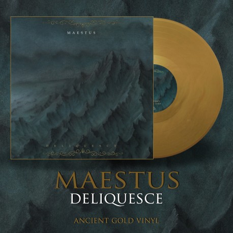 "MAESTUS ""Deliquesce"" Ancient Gold Vinyl LP"