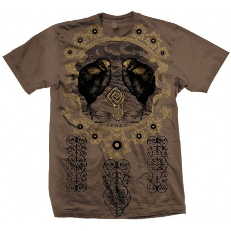 "FEN ""Epoch"" t-shirt (chestnut)"