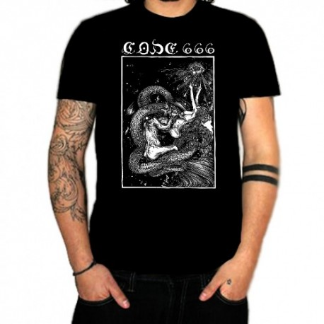 "CODE666 ""Business for Satan"" T-SHIRT"