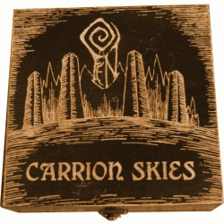 "FEN ""Carrion Skies"" BROWN WOODBOX double CD"