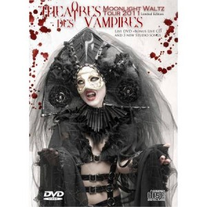 "THEATRES DES VAMPIRES ""Moonlight Waltz Tour 2011"" Ltd. ed. DVD-BOX"