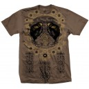 "FEN ""Epoch"" t-shirt (marrone)"