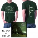 "SAILLE ""Ritu"" COMBO ltd. Edition green T-shirt + Digipack-CD"