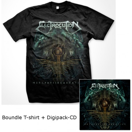 "ELECTROCUTION ""Metaphysincarnation"" COMBO T-Shirt + Digipack-CD"
