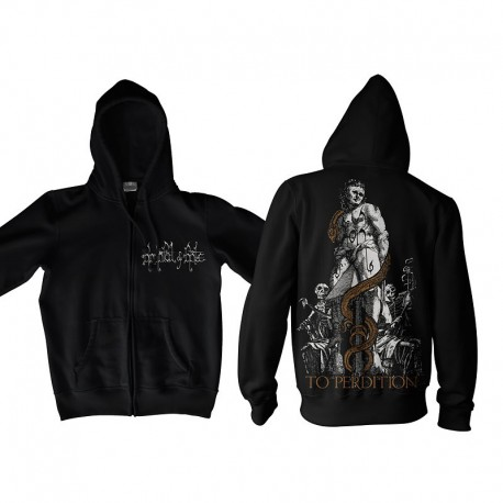 "HANDFUL OF HATE ""To Perdition"" Zip Hoodie"