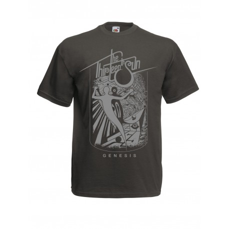 "THE THIRTEENTH SUN ""Genesis"" T-Shirt grey"