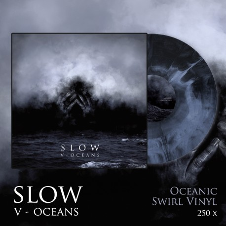 "SLOW ""V - Oceans"" COLOR LP"