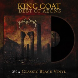 "KING GOAT ""Debt of Aeons"" CD"