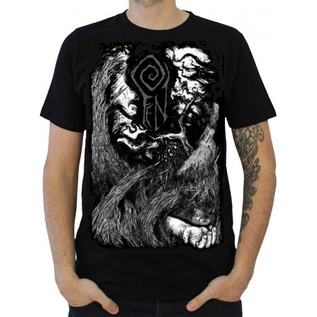 "FEN ""Dustwalker"" black t-shirt"