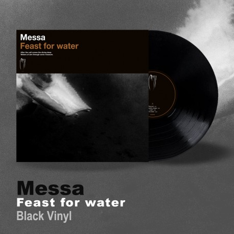 "MESSA ""Feast for Water"" black LP"