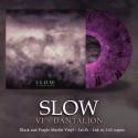 "SLOW ""VI - Dantalion"" vinile marmo viola e nero"