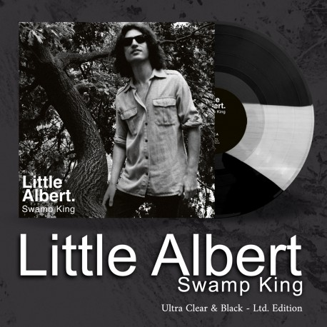 "LITTLE ALBERT ""Swamp King"" LP colorato ed.lim."