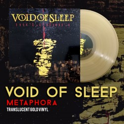 "VOID OF SLEEP ""Metaphora"" Translucent Gold LP"