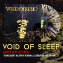 "VOID OF SLEEP ""Metaphora"" Translucent Gold with Black Splatter LP"