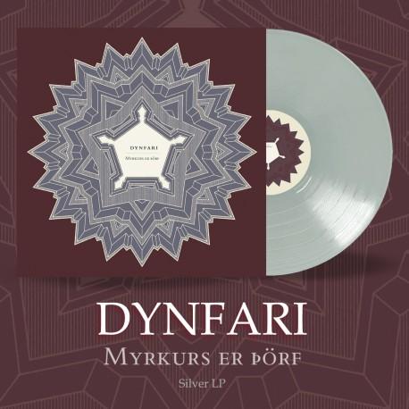 """DYNFARI """"Myrkurs er þörf"""" Silver LP"""