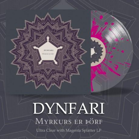 "DYNFARI ""Myrkurs er þörf"" vinile splatter"