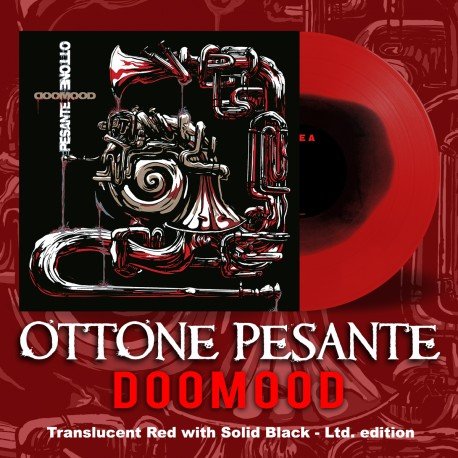 "OTTONE PESANTE ""DoomooD"" Red and Black LP"