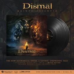 """DISMAL """"Quinta Essentia"""" Doppio LP nero"""