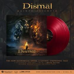 """DISMAL """"Quinta Essentia"""" Doppio LP rosso"""