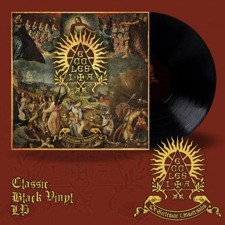 """ECCLESIA """"De Ecclesiae Universalis"""" Black LP"""