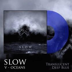 """SLOW """"V - Oceans"""" LP (Deep Blue)"""