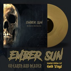 """EMBER SUN """"On Earth and Heaven"""" Gold LP"""