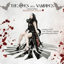 "THEATRES DES VAMPIRES ""Moonlight Waltz"" Limited Edition DUALDISC (CD+DVD)"