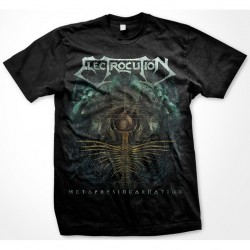 "ELECTROCUTION ""Metaphysincarnation"" T-Shirt Size-LARGE"