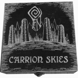 "FEN ""Carrion Skies"" BLACK WOODBOX double CD"
